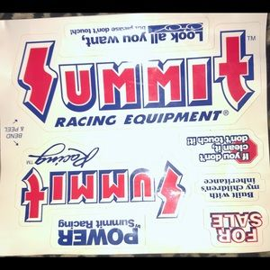 summit Other - Summit Racing Equipment Car Stickers